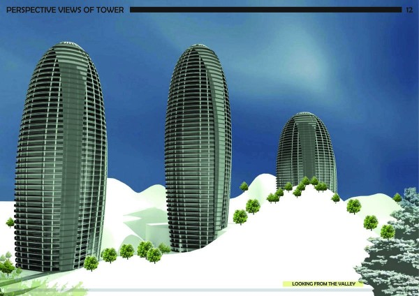 The Egg Building project in Ningbo designed by Wang Degang. (Courtesy W2 Architects)