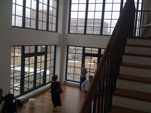 Living room at 200 Eleventh Avenue