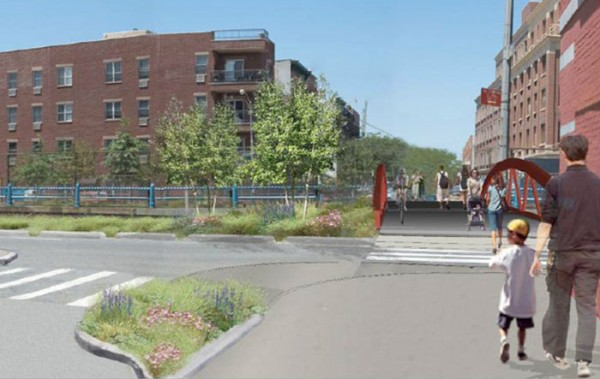 One of several proposed BQE redesigns discussed over the summer (Courtesy NYC EDC)