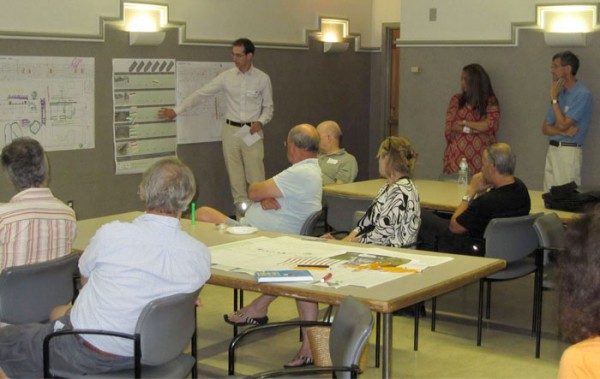 Community members at a previous BQE meeting (Courtesy NYC EDC)