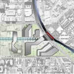 Redevelopment proposal for Inglewood's Market Street ties into Light Rail (Courtesy (fer) Studio)