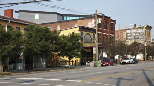 The Green Building has been a catalyst in reviving Louisville's historic but downtrodden East Market district, which has become a vibrant part of the city. (Ted Wathen/Quadrant)