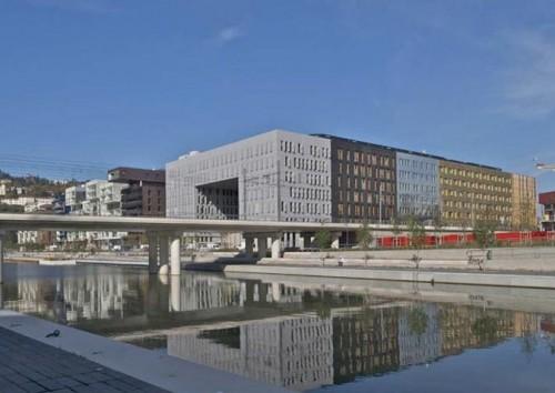Le Monolithe in Lyon, France (Courtesy MVRDV)