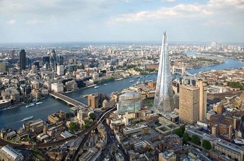 Renzo Piano's London Shard (Courtesy Sellar Property Group)