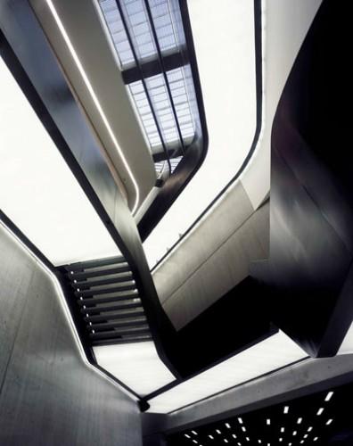 Zaha Hadid's MAXXI in Rome (Helene Binet)