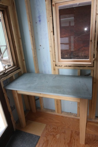 Inside the Tiny House (Courtesy Green Mountain College)