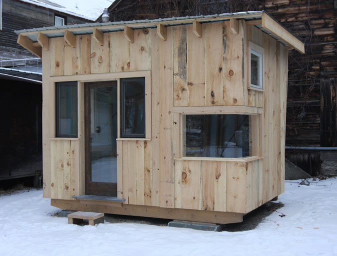 students will sell the tiny house in the spring courtesy green mountain college