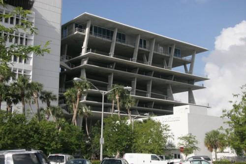 Herzog & de Meuron's Miami Beach parking garage (Courtesy joevare/flickr)
