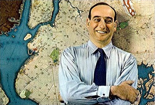 Robert Moses in 1938 (Courtesy CUNY)