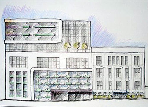 Hotel Grand Prospect rendering (Courtesy Curbed)