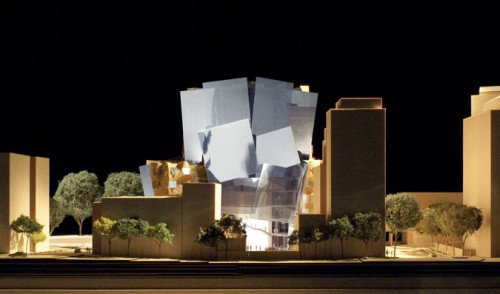 Dr. Chau Chak Wing Building. West elevation. (Gehry Partners, LLP)