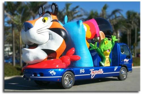 Kellog's Tonymobile