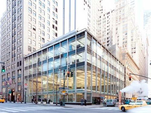 Manufacturer's Trust Company, Fifth Avenue, NY (Courtesy Landmarks Preservation Commission via DNAinfo)