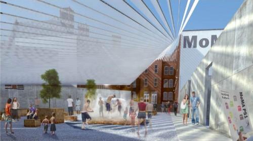 Interboro's design for MoMA P.S.1 (Courtesy Interboro)