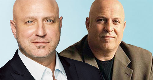Colicchio and Scarpa. Separated at birth?