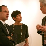 Parks Commissioner Adrian Benepe, Van Alen's Abby Hamlin, and AN Editor in Chief William Menking