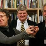Ellen Wexler, Jeremy Melvin and Alan Wexler