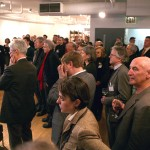 The crowd at the Van Alen Institute.