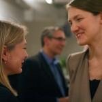 AN Publisher Diana Darling greets Masha Panetleyeva