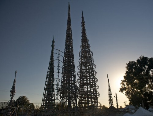 Watts Towers (Courtesy Robert Garcia / Flickr)