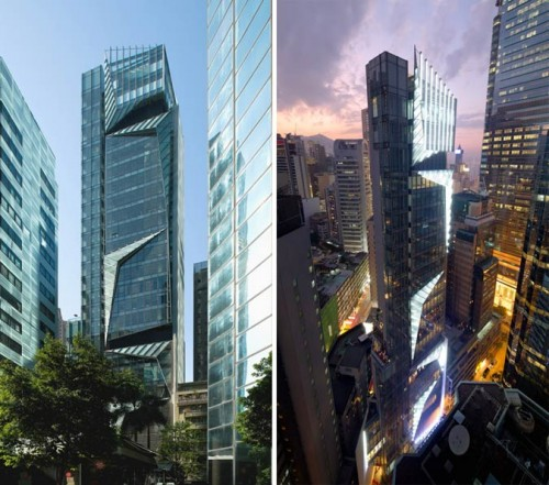 Cubus building by Woods Bagot in Hong Kong (Courtesy Woods Bagot)