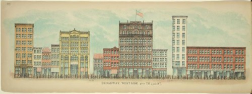 Broadway, West Side. 40th to 43rd St. (Courtesy NYPL)