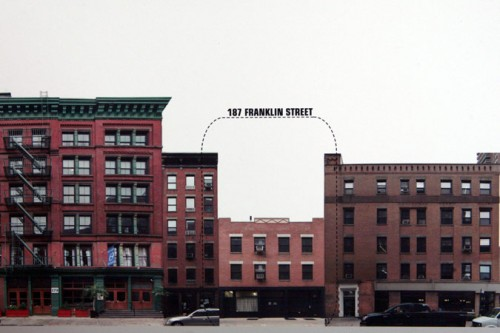 Current conditions at 187 Franklin Street (Courtesy Landmarks Preservation Commission)