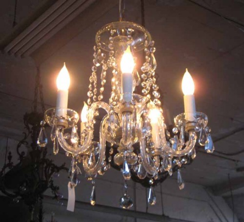 Vintage crystal chandelier anyone?
