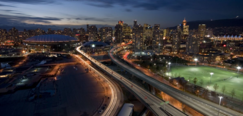 Vancouver to consider removing two viaduct bridges. Courtesy Publicola.com