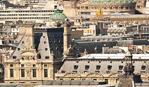 The rooftops of Paris (Courtesy Paris 26 Gigapixels)