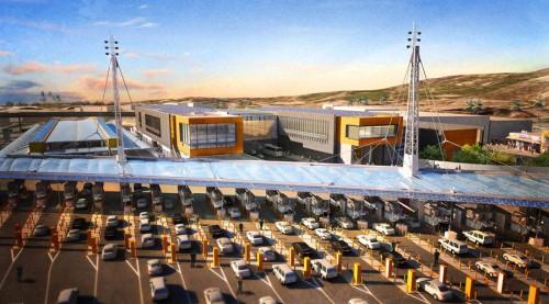 Rendering of the San Ysidro Border Crossing