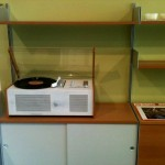 """Rams' SK4 record player for Braun, aka """"Snow White's Coffin."""""""