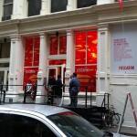 Foscarini's showroom on Greene Street (The Architect's Newspaper)