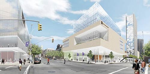 NYU outlines off-campus expansion plans. (Courtesy Curbed)