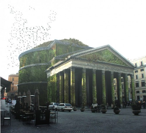 Eco-Pantheon, Rome 126AD (Courtesy Star Strategies+Architecture)