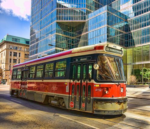 Downtown Streetcar proposal.