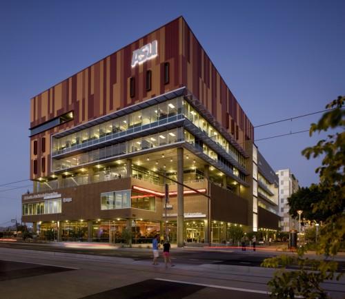 Cronkite Building at Arizona State University. ©Bill Timmerman