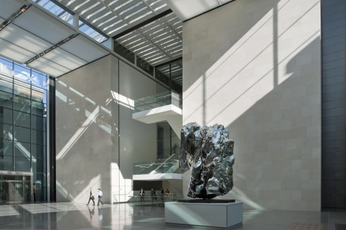 Boston Museum of Fine Arts by Foster + Partners (Courtesy Nigel Young)