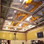 The new gymnasium at 26 Broadway (Jennifer Gorsche / AN)