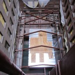Framing over the old mechanical space (Ciardullo)