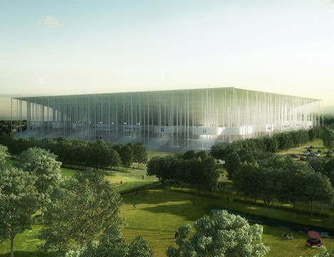 Stade Bordeaux Atlantique by Herzog & de Meuron (Courtesy Dezeen)