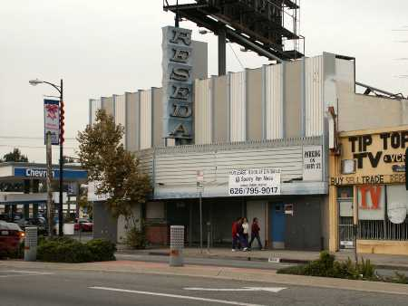 The redevelopment of the Reseda Theater into a mixed-use center is on hold.
