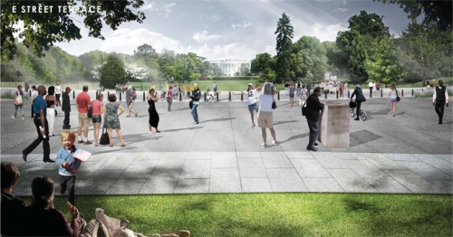 Proposed changes to President's Park (Courtesy RMA)