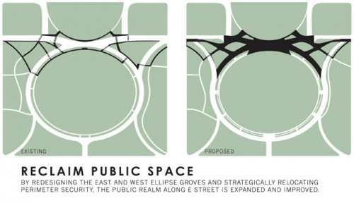 Rogers Marvel Architects plan to increase pedestrian public space. (Courtesy RMA)