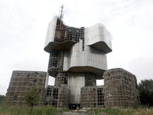 Petrova Gora memorial in Croatia (Courtesy Srdjan Jovanovic Weiss)