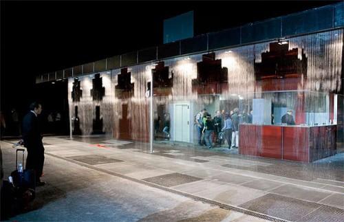 Digital Water Pavilion in Spain by carlorattiassociati. (Courtesy carlorattiassociati)