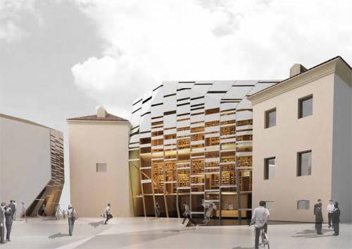 St. Augustine Complex in Modena by carlorattiassociati. (Courtesy carlorattiassociati)