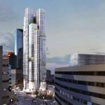 Studio Gang's design for a 30-story tower in Lexington, Kentucky (Courtesy Studio Gang)