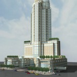 Original design for the CentrePointe tower in Lexington, Kentucky (Courtesy Webb Companies)