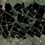 Study of horse farms surrounding Lexington. (Courtesy Studio Gang)